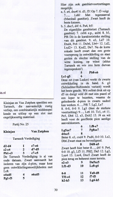 Kampioensboek NRSG Wilhelm Steinitz 2004